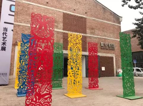 798艺术节特展之——缤纷·任戎雕塑展