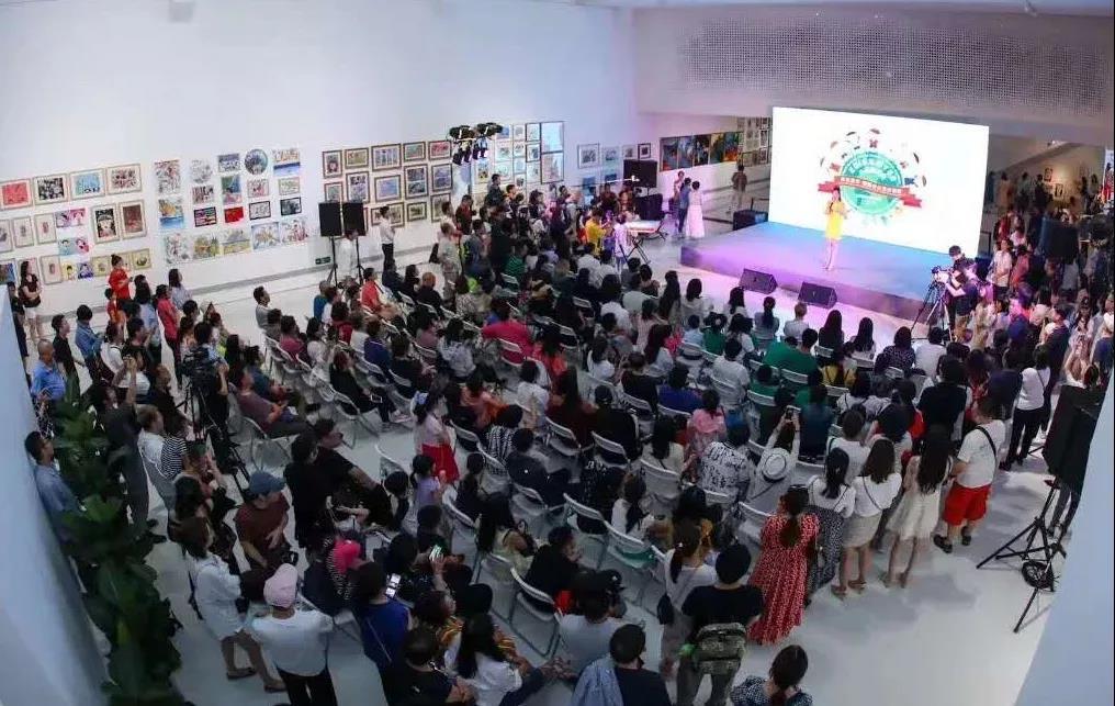 """北京798""""六一""""儿童艺术周 """"悦在童年""""国际少儿艺术联展【开幕现场】"""